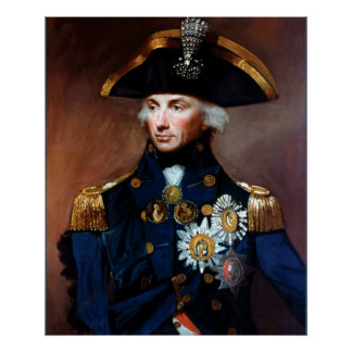 Rear Admiral Sir Horatio Nelson Posters