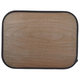 Rear Cherry Wood Print Car Mats