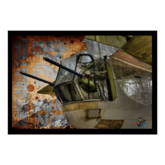 Rear Gunner Turret - Liberator B24 Print