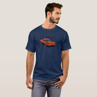 Rear view of a classic red1959 Chevrolet El Camino T-Shirt