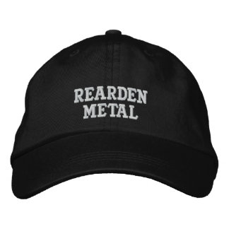 Rearden Metal Embroidered Hat