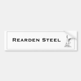 Rearden Steel Atlas Shrugged Bumper Sticker