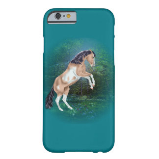 Rearing Buckskin Paint Horse Barely There iPhone 6 Case