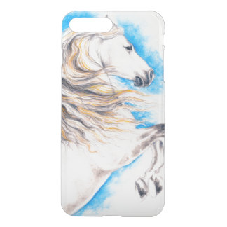 Rearing White Horse iPhone 8 Plus/7 Plus Case