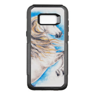 Rearing White Horse OtterBox Commuter Samsung Galaxy S8+ Case