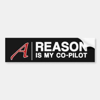 REASON Bumper Sticker