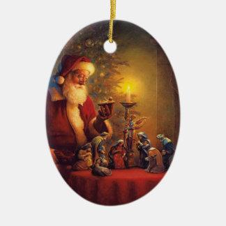 Reason for the Season Ceramic Oval Decoration