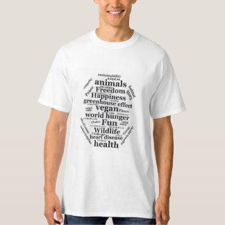 Reasons for going Vegan T-Shirt
