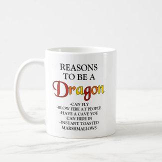 Reasons to be a Dragon Mug
