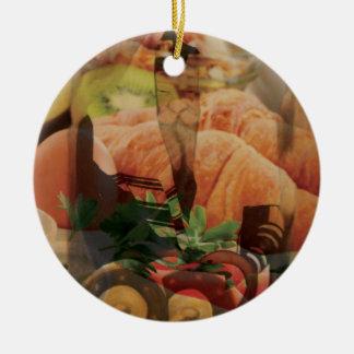 Rebbe Davenen Ceramic Ornament