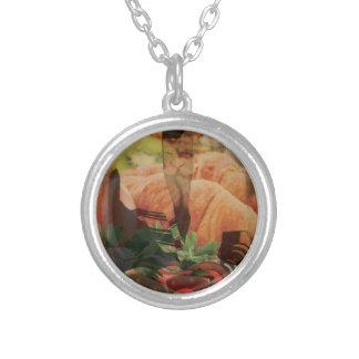 Rebbe Davenen Silver Plated Necklace