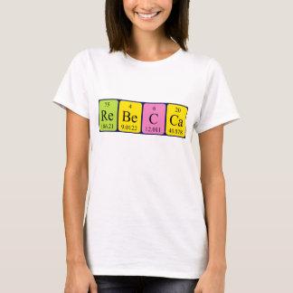 Rebecca periodic table name shirt