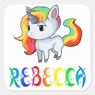 Rebecca Unicorn Sticker