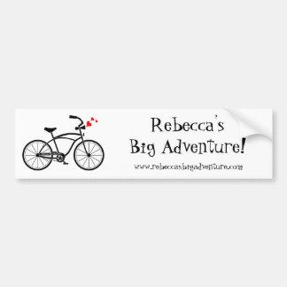 Rebecca's Big Bumper Sticker
