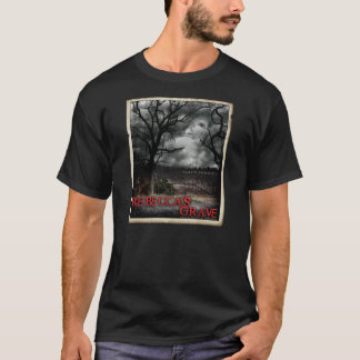 Rebecca's Grave Destroyed T-shirt with Border