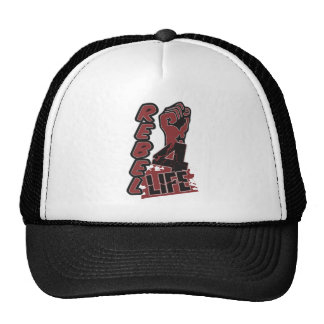 REBEL 4 LIFE hat, choose color Cap