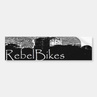Rebel Bikes City Sticker Bumper Sticker