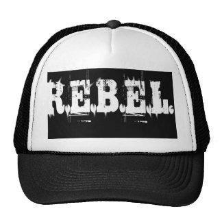 REBEL blog logo and t-shirt Cap