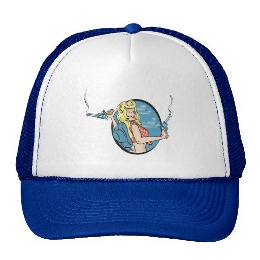 Rebel Blond Lady Hat