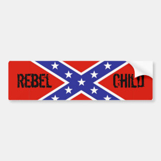 Rebel Child Bumper Sticker