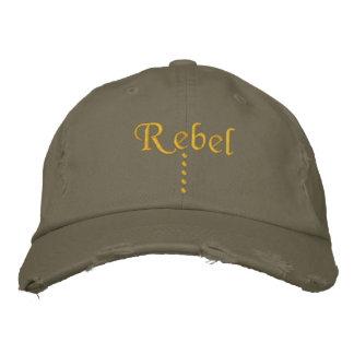 Rebel Embroidered Hat