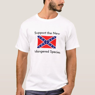 rebel_flag2, Support the New, Endangered Species T-Shirt