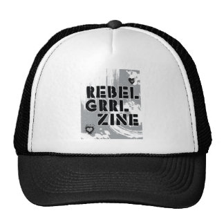 Rebel Grrl Zine Mesh Hat