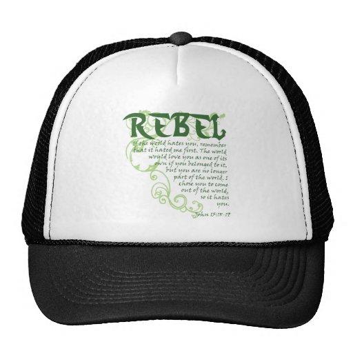 Rebel Trucker Hat