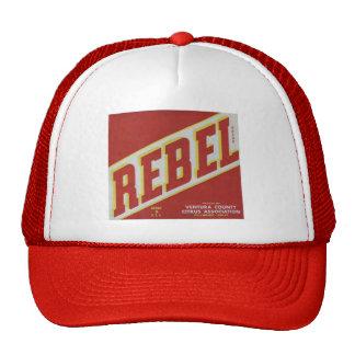 Rebel Oranges2 Cap