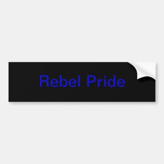rebel pride sticker bumper sticker