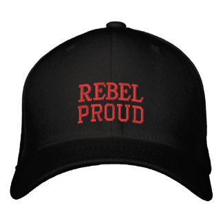 REBEL, PROUD BASEBALL CAP