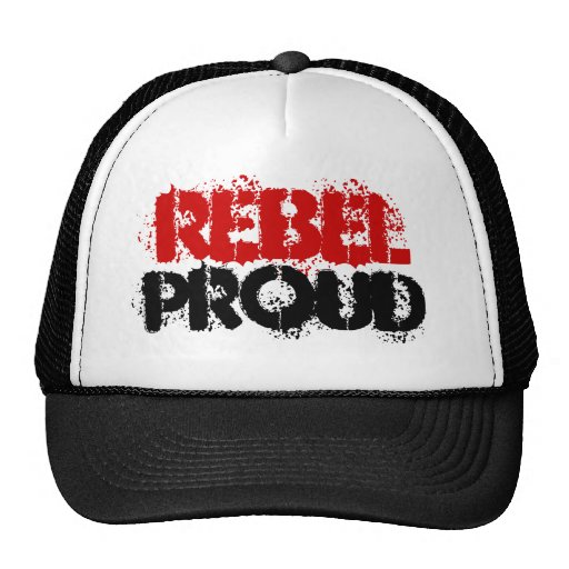 REBEL, PROUD HAT