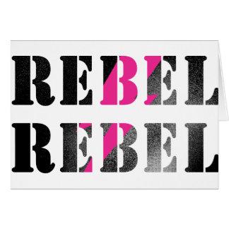 rebel rebel #2 card