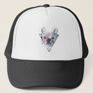 Rebel Rebel Frenchie Trucker Hat