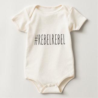 Rebel Rebel Hashtag Baby Bodysuit
