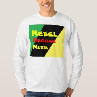 Rebel reggae muzik t-shirts
