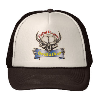 Rebel Rouser Godfather Father's Day Gifts Mesh Hat