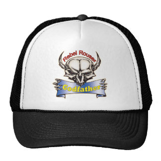 Rebel Rouser Godfather Father's Day Gifts Mesh Hats