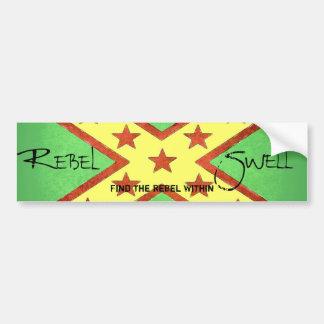 Rebel Swell - Bumber Sticker Bumper Sticker