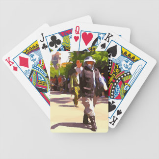 Rebel Troupers Bicycle Playing Cards