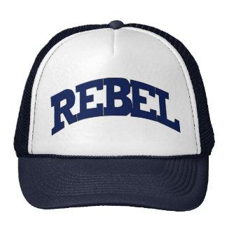 Rebel Truckers Mesh Hats