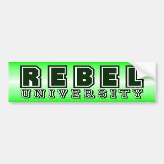 Rebel University Bumper Sticker
