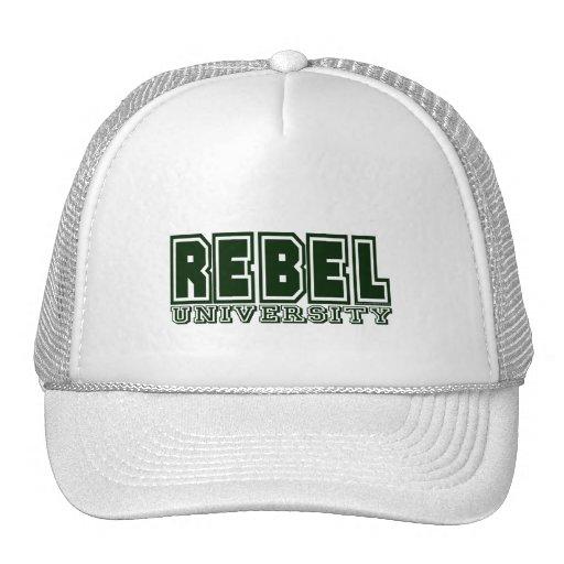 Rebel University Mesh Hats