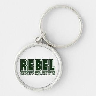 Rebel University Keychains
