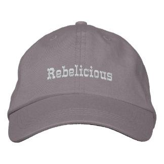 Rebelicious Embroidered Cap