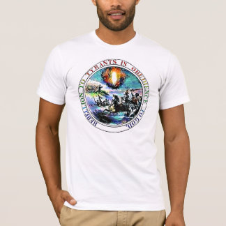 Rebellion To Tyrants Thomas Jefferson Seal T-Shirt