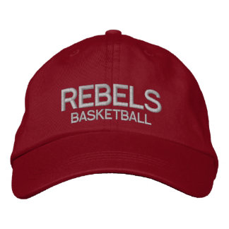 Rebels Basketball Hat Embroidered Hat