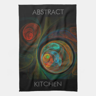Rebirth Abstract Art Kitchen Towel