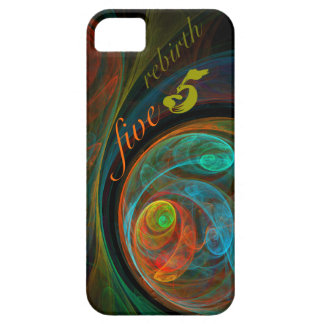 Rebirth Five Abstract Art iPhone 5 iPhone 5 Covers