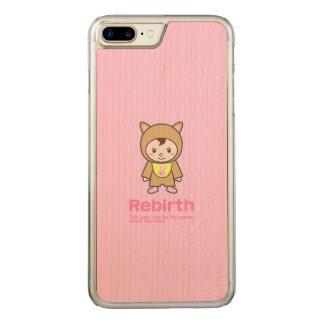Rebirth iPhone 7 Plus slim maple wood case